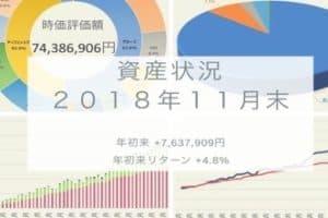 資産状況 2018年11月末