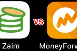 家計簿アプリの無料版を比較!「zaim」 vs 「MoneyFoward」